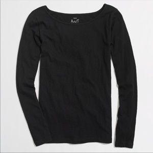 J. Crew Painter T Long Sleeve Cotton Shirt Top